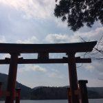 かがみ@箱根神社・九頭龍神社
